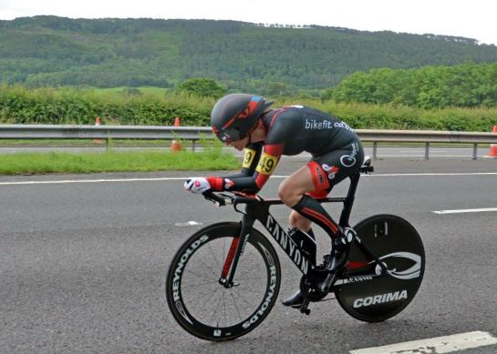 Sue 2016 National 100 mile TT